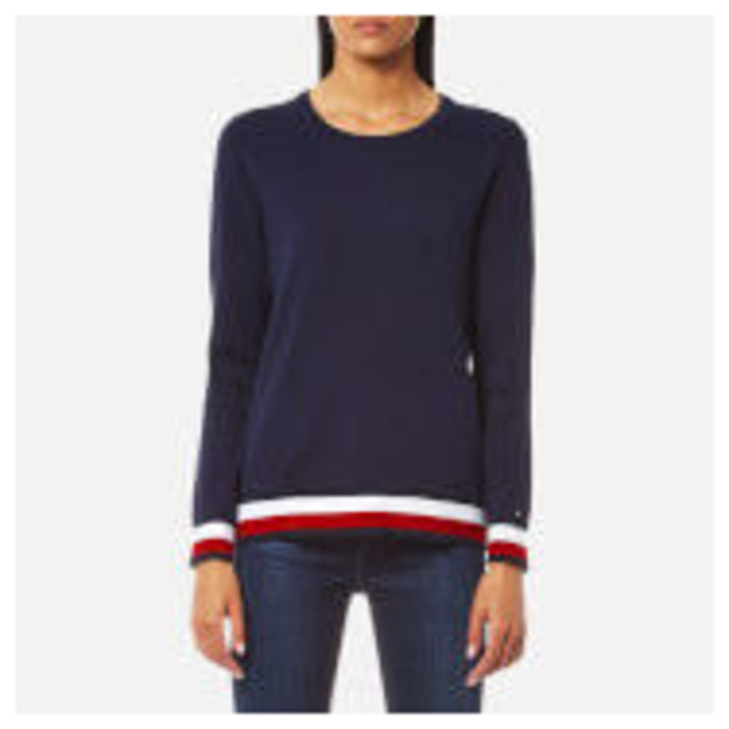 Tommy Hilfiger Women's Ivy Crew Neck Sweatshirt - Peacoat