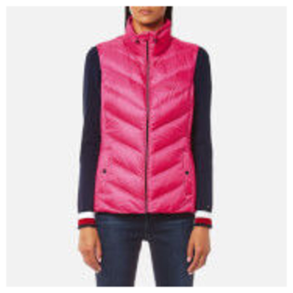 Tommy Hilfiger Women's Callie Light Weight Down Vest - Magenta