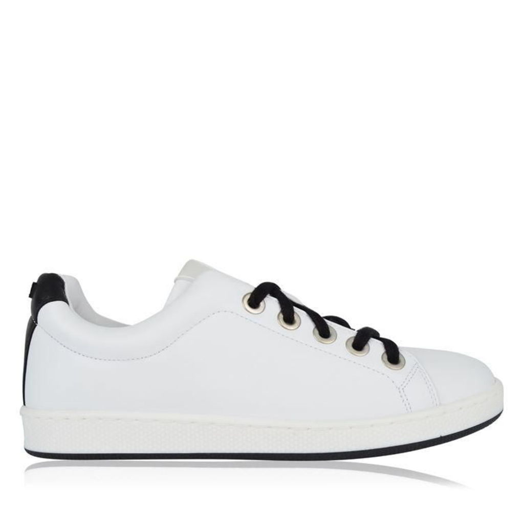 KENZO Contrasting Leather Trainers