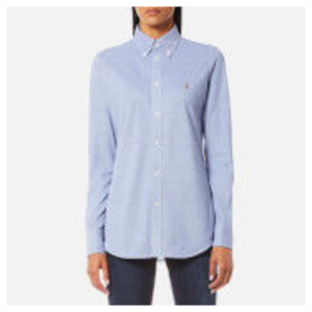 Polo Ralph Lauren Women's Heidi Skinny Fit Stretch Shirt - Marquis Blue