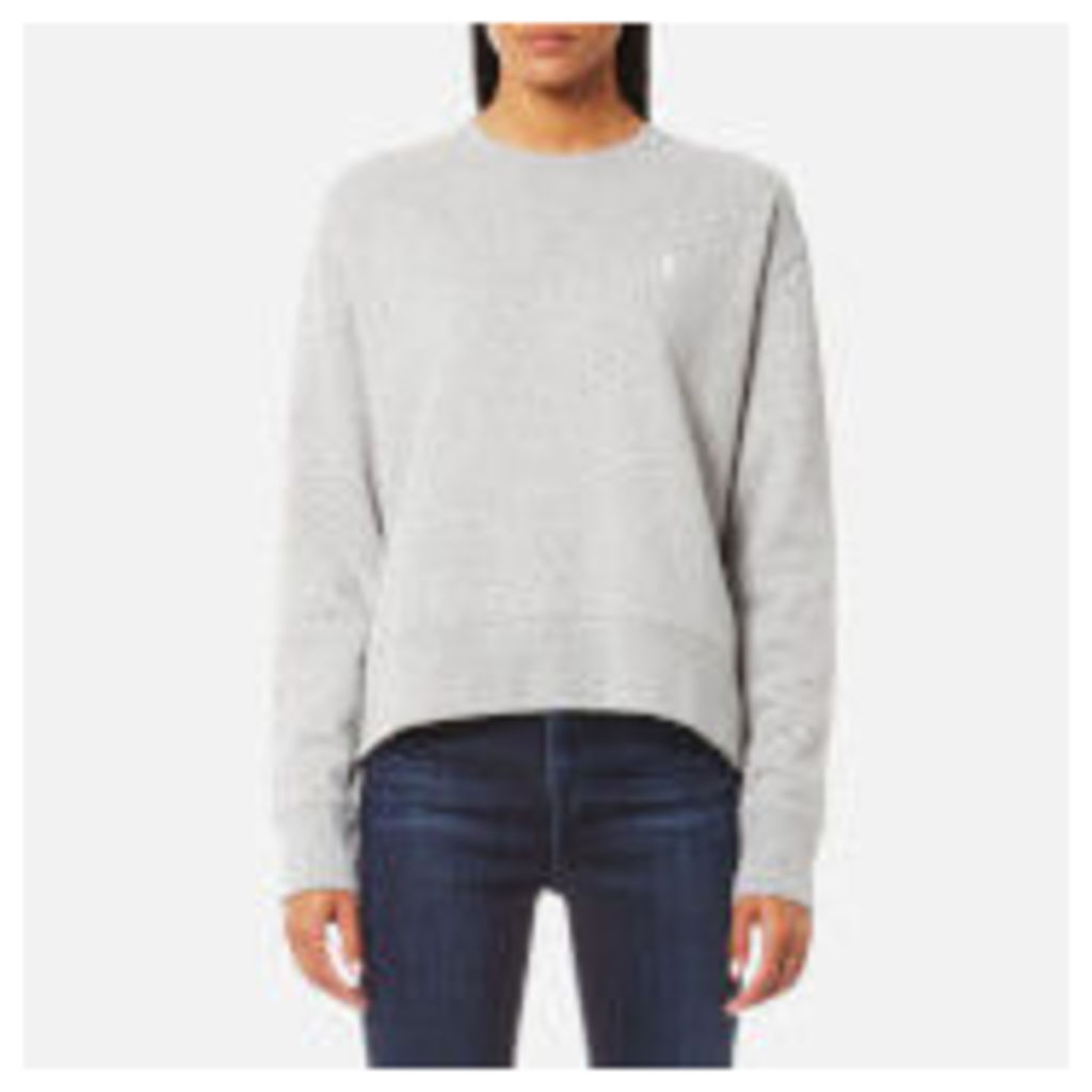 Polo Ralph Lauren Women's Long Sleeve Crew Sweatshirt - Grey