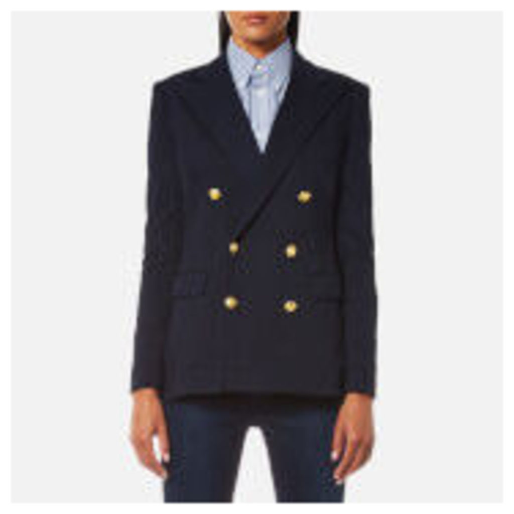 Polo Ralph Lauren Women's Double Breasted Blazer - Aviator Navy