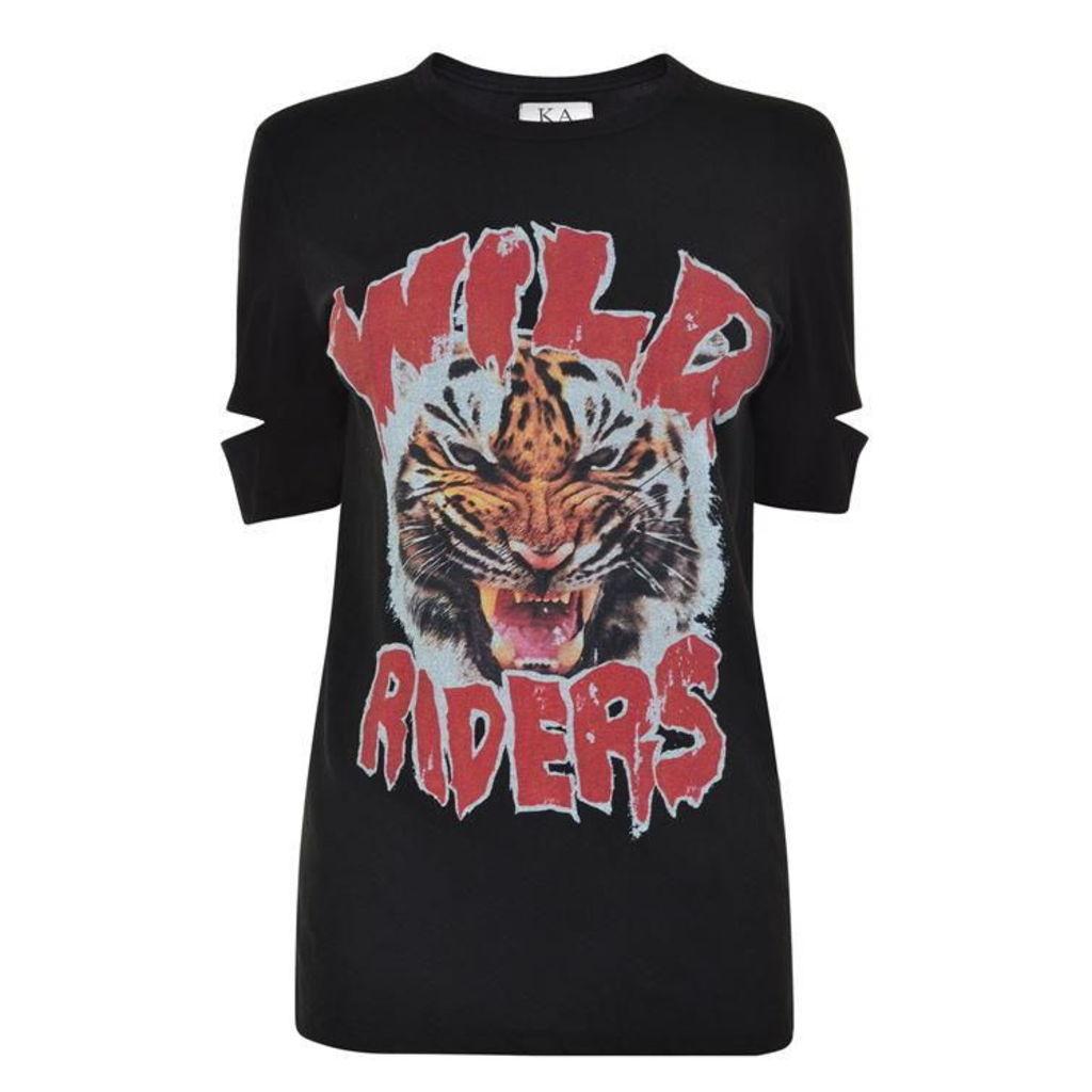 ZOE KARSSEN Wild Riders T Shirt