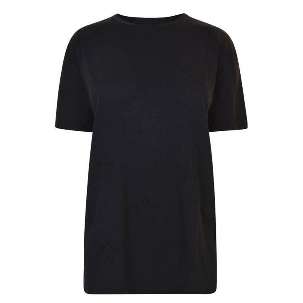 ZOE KARSSEN Boyfriend Stars T Shirt