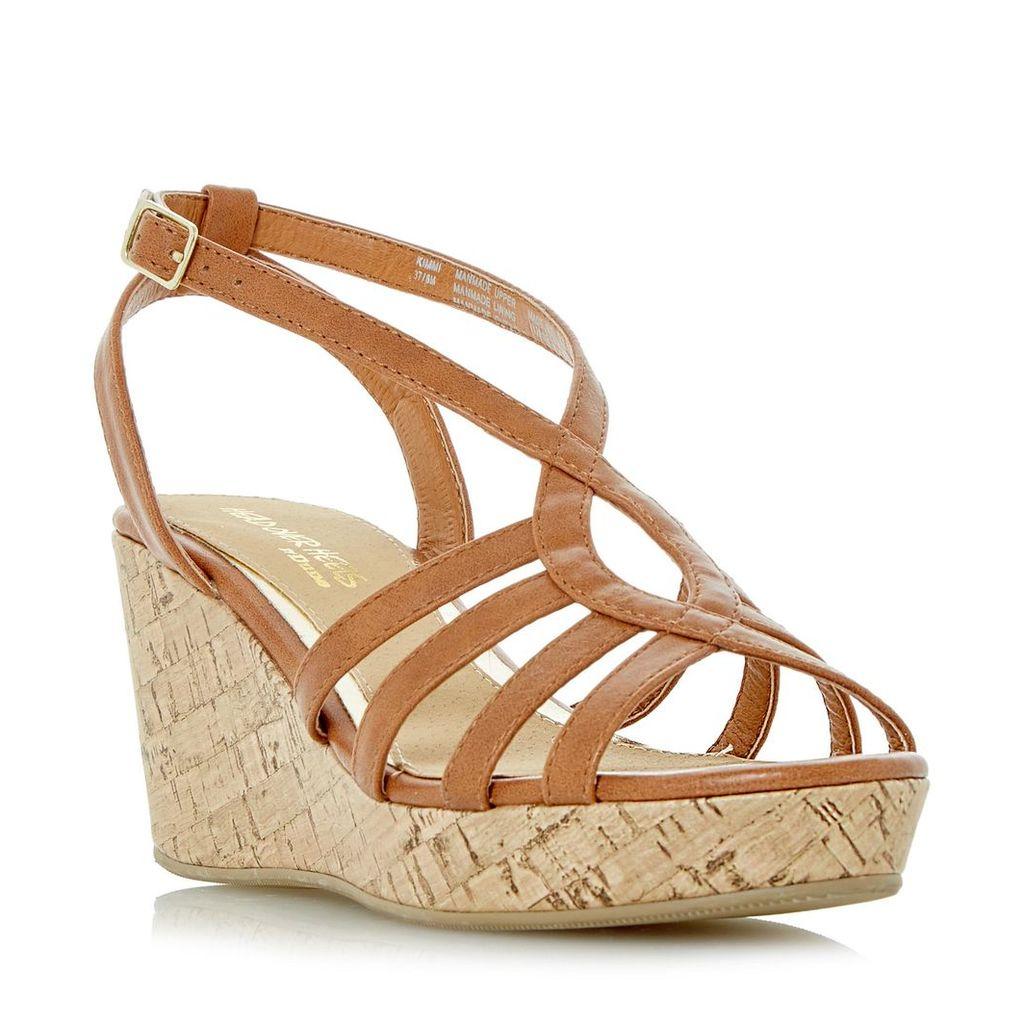 Kimmi Strappy Wedge Sandal