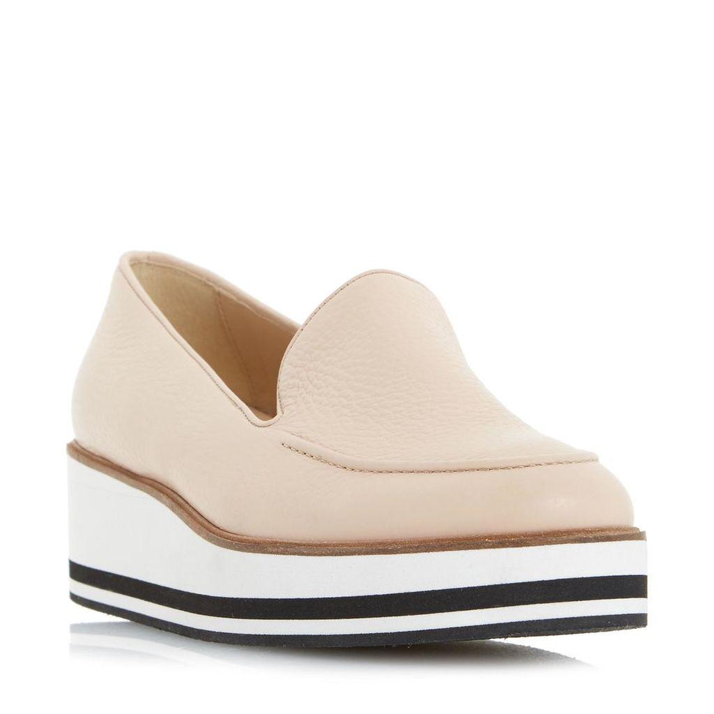 Genesis Slipper Cut Flatform Shoe