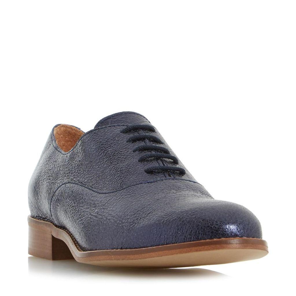 Flourish Metallic Lace Up Shoe