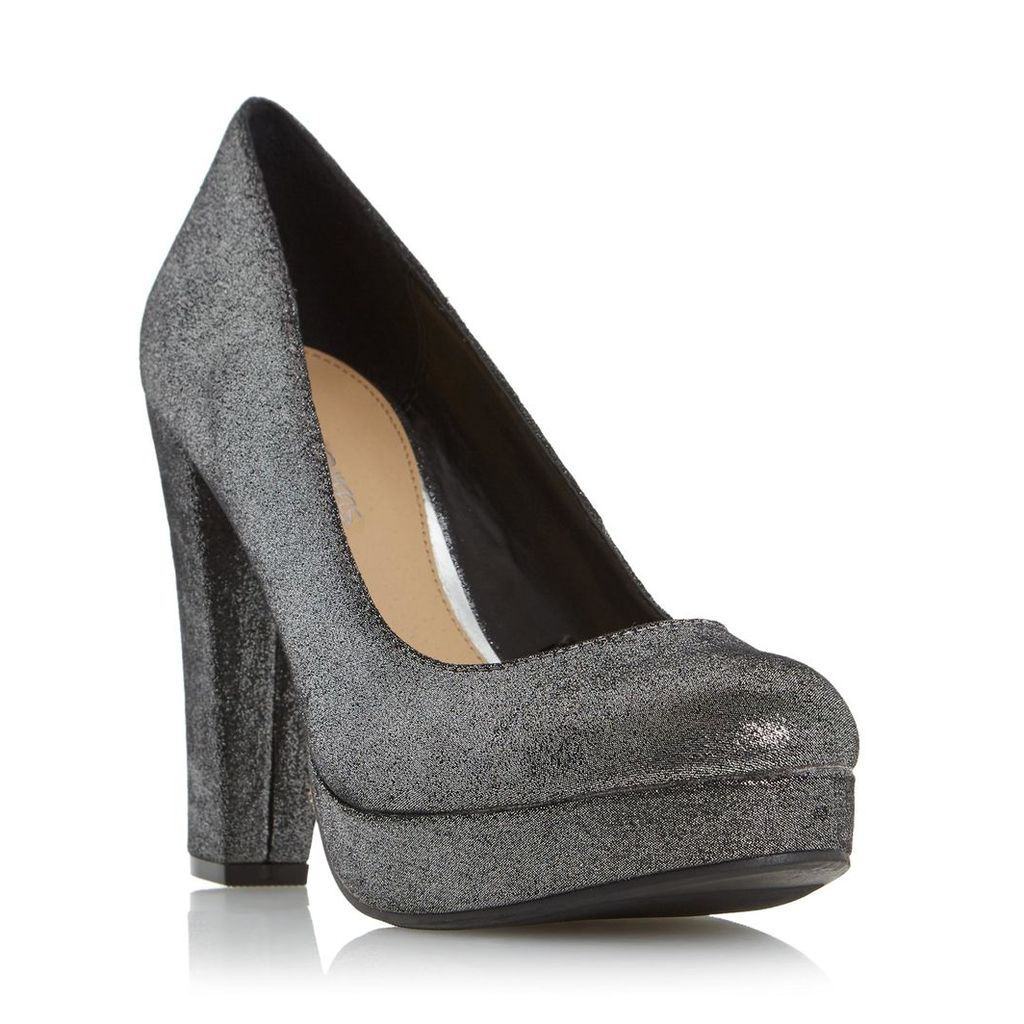 Adele Platform High Heel Court Shoe