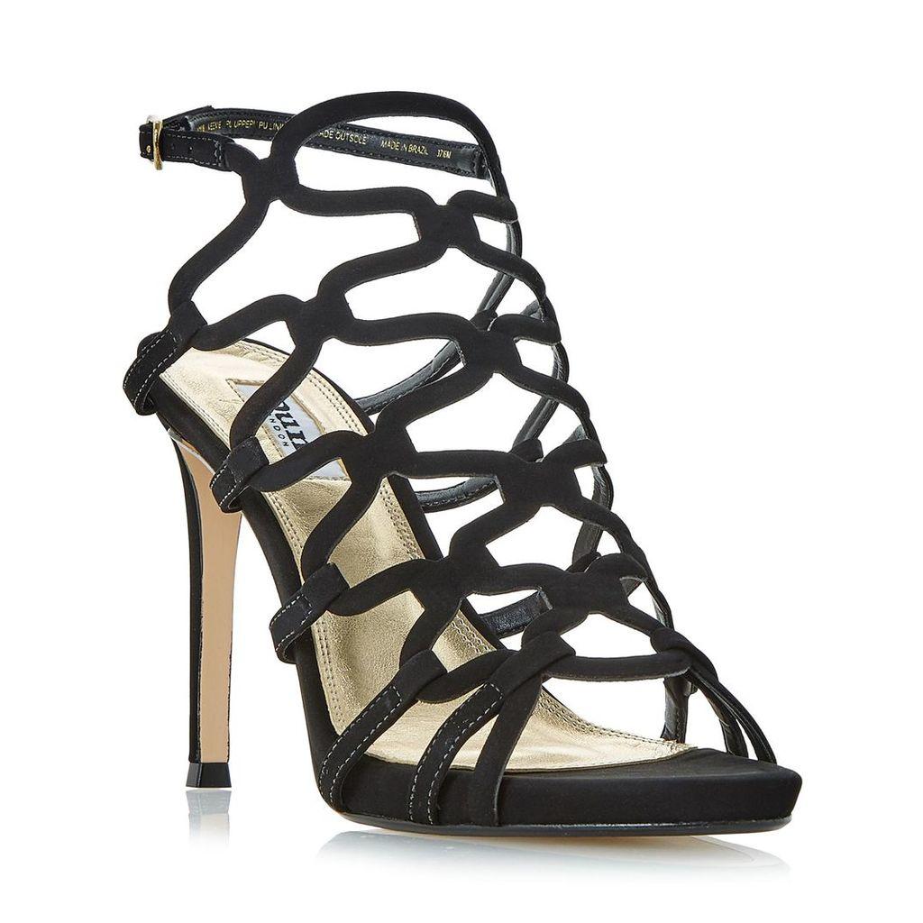 Meemie Looped Caged High Heel Sandal