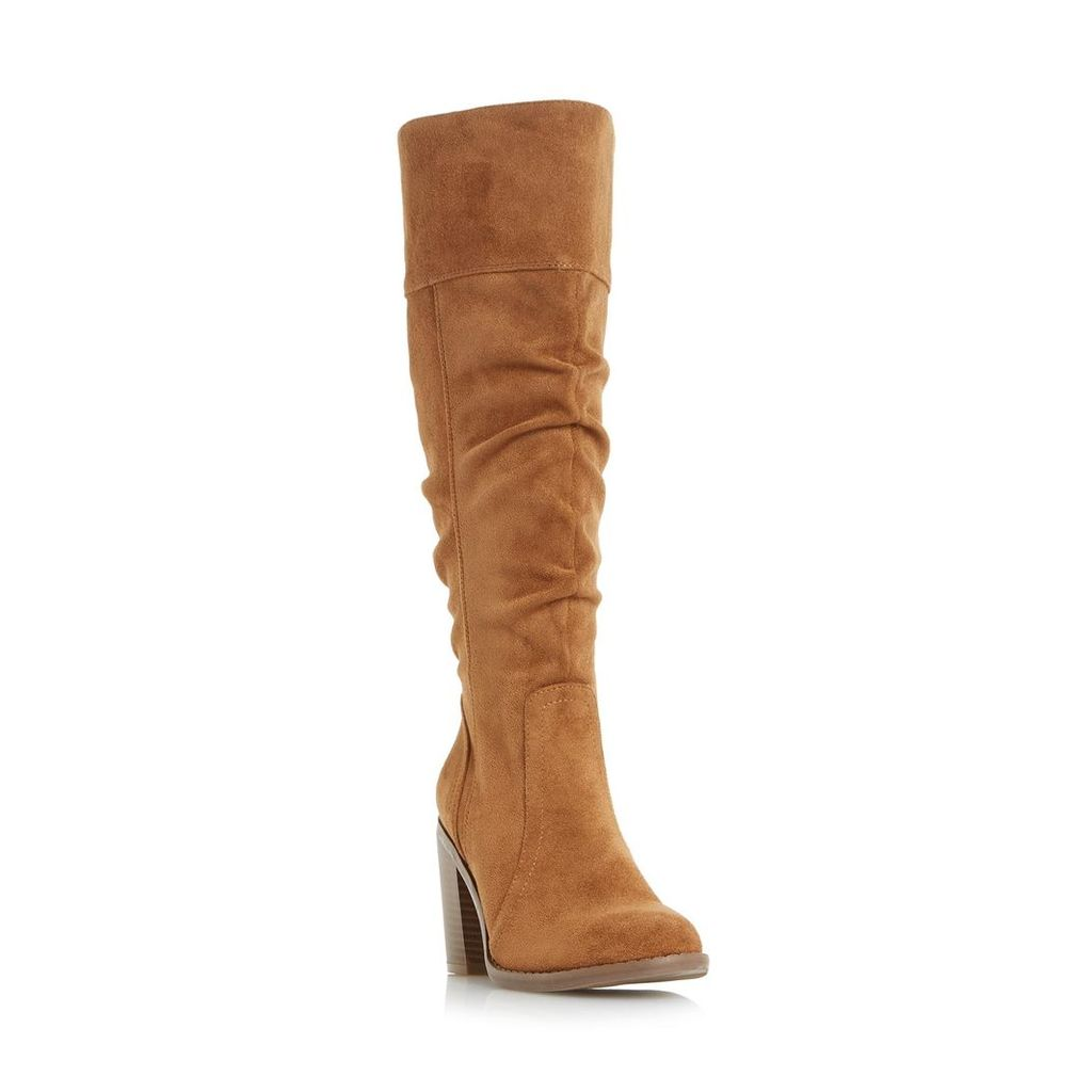 Tamika Ruched Knee High Boot