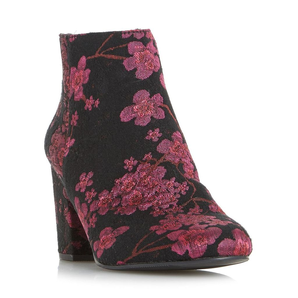 Orlina Floral Jacquard Ankle Boot