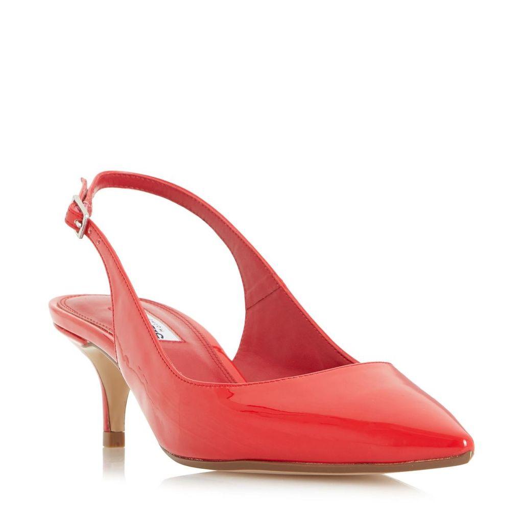 Casandra Kitten Heel Slingback Court Shoe