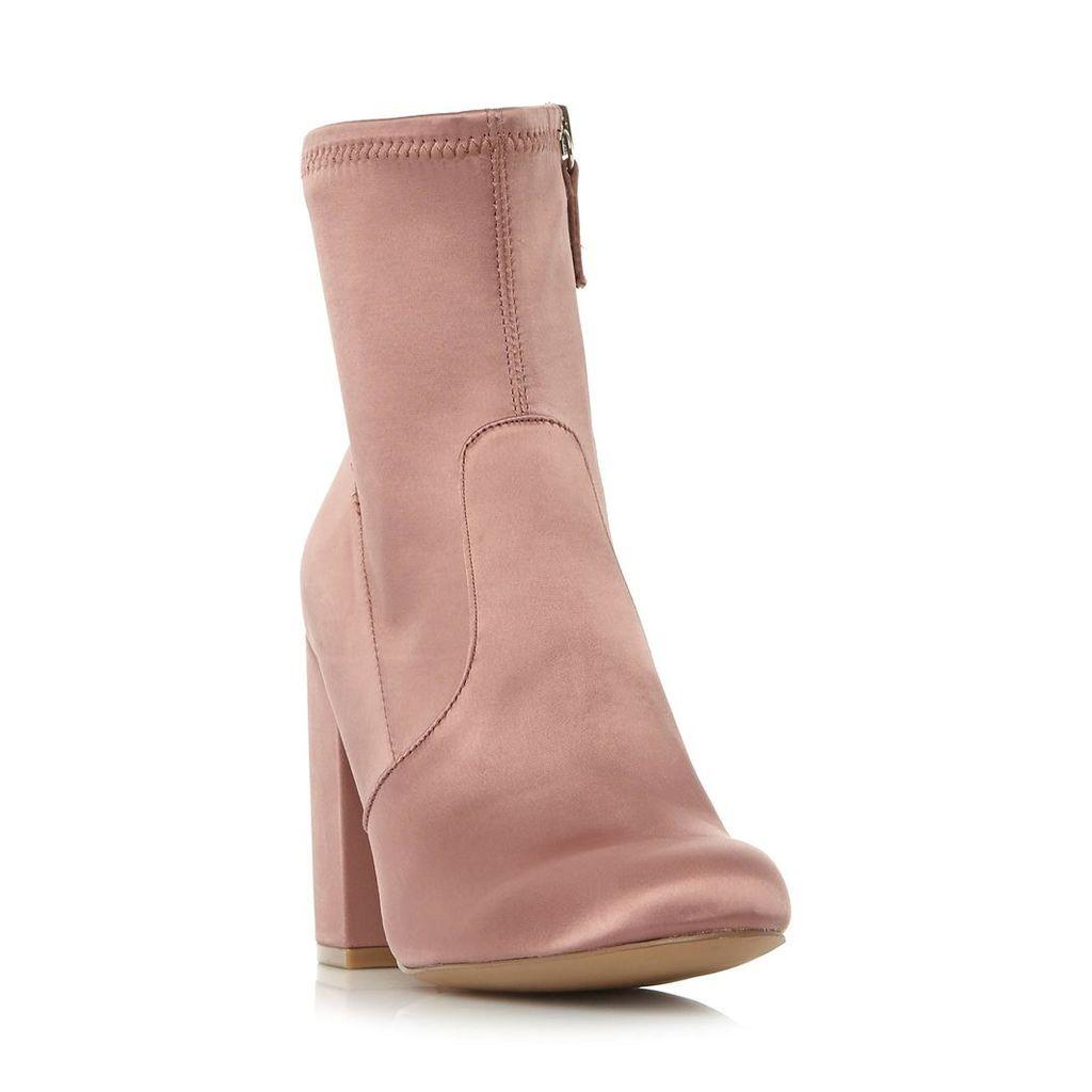 Gaze- Sm Heeled Side Zip Ankle Boot