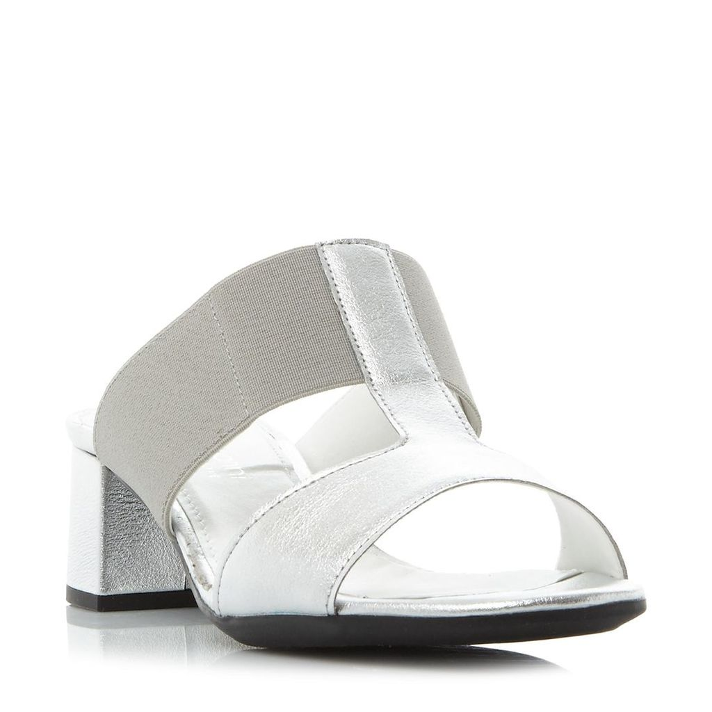 Joyford Comfort Block Heel Mule Sandal