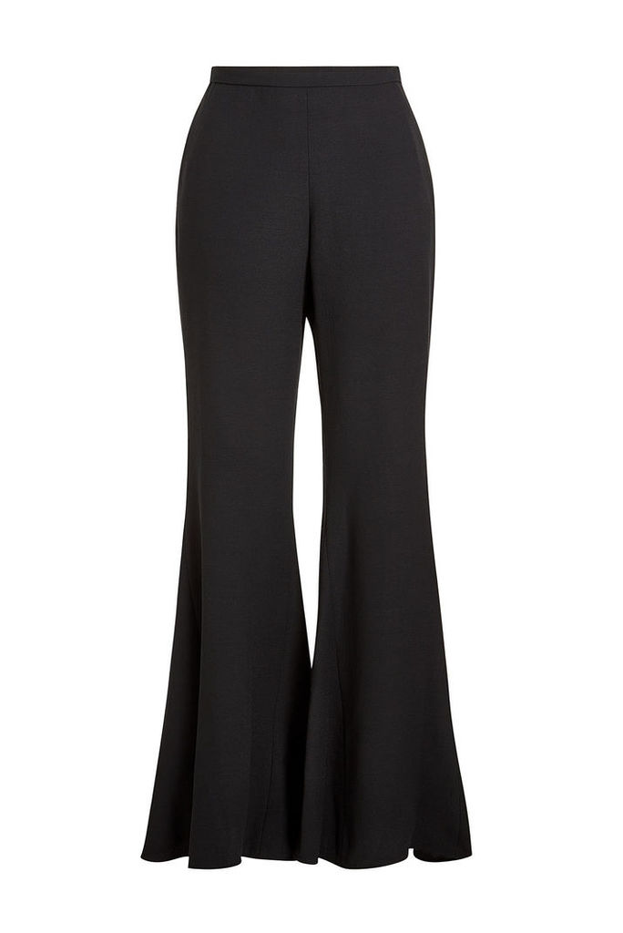 Rosetta Getty Flared Pants with Virgin Wool