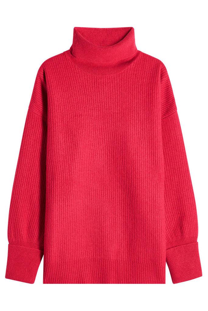 Maison Margiela Oversized Turtleneck Pullover with Wool