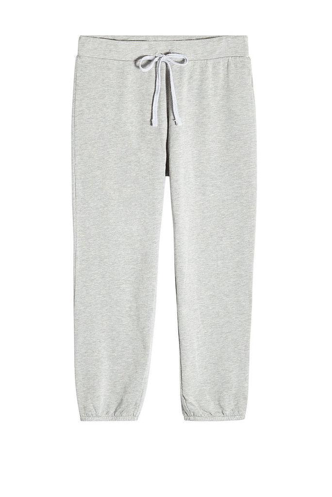 Velvet Sweatpants with Cotton