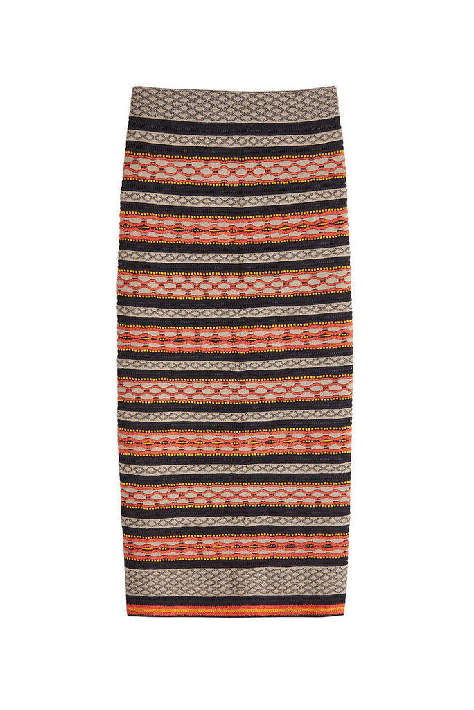 M Missoni Knit Skirt with Cotton
