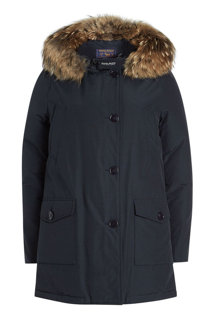 Woolrich Arctic Parka with Fur-Trimmed Hood