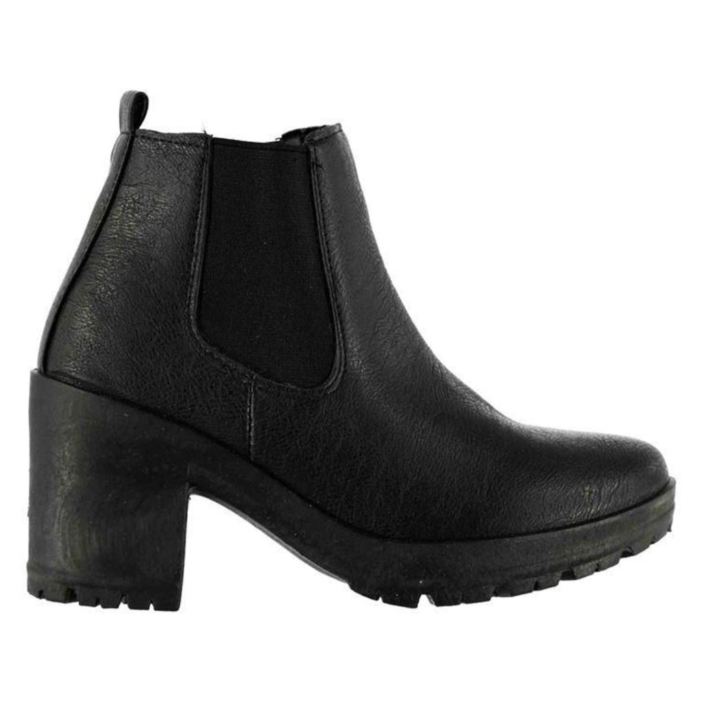 Fabric Chelsea Boots Ladies