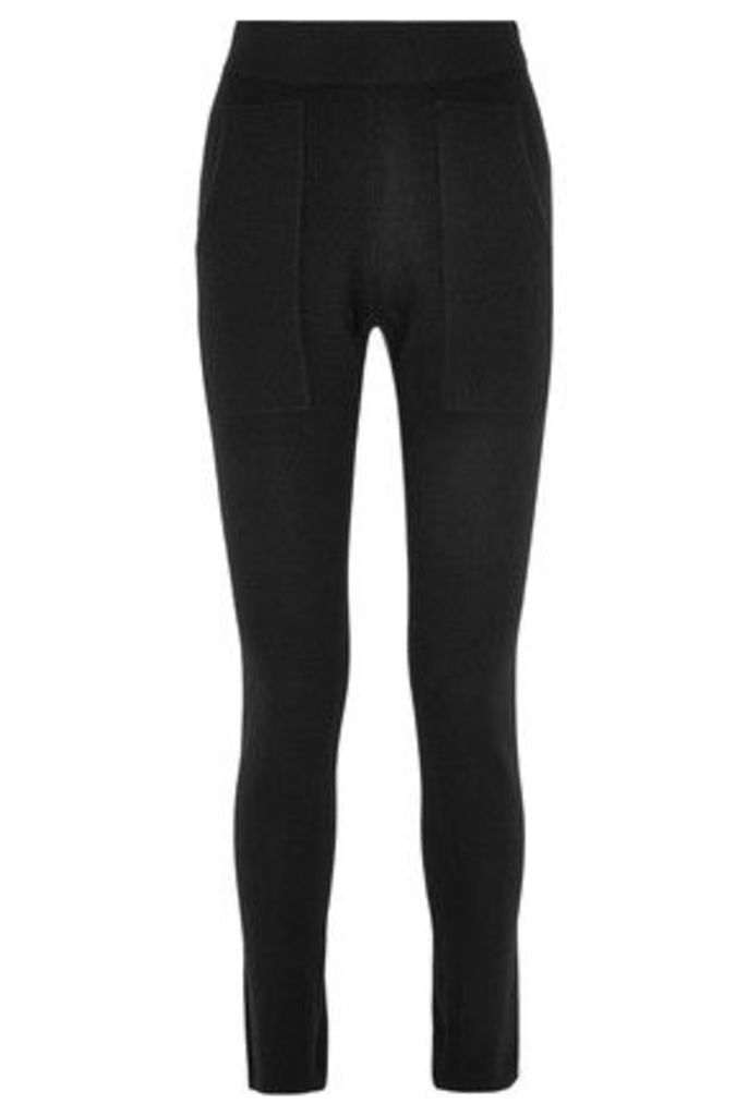 Soyer - Cashmere Track Pants - Black