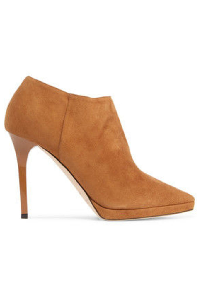 Jimmy Choo - Lindsey Suede Boots - Tan