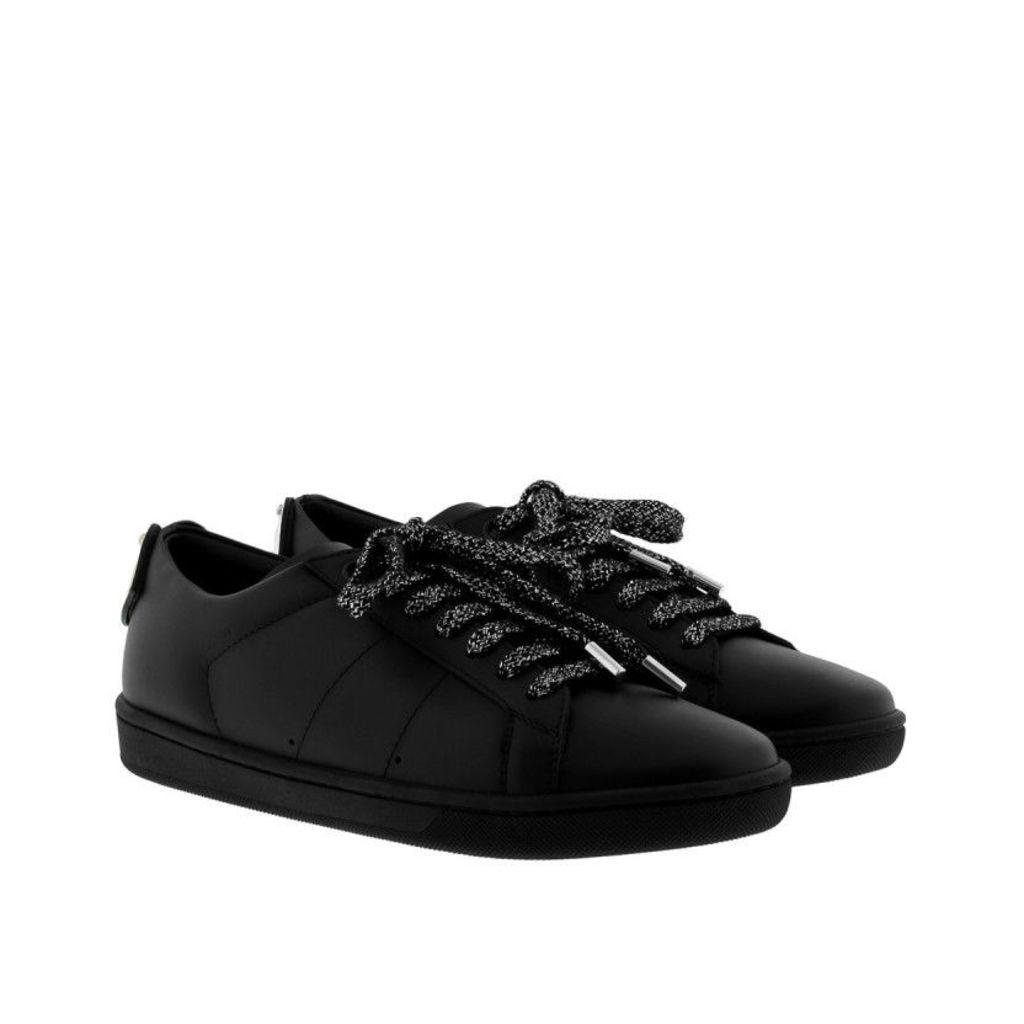 Saint Laurent Sneakers - Lips Sneakers Low Noir/Silver/Gold - in silver, black - Sneakers for ladies