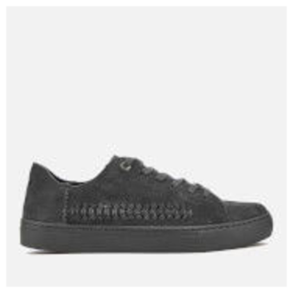TOMS Women's Lenox Suede Cupsole Trainers - Forged Iron Grey Monochrome