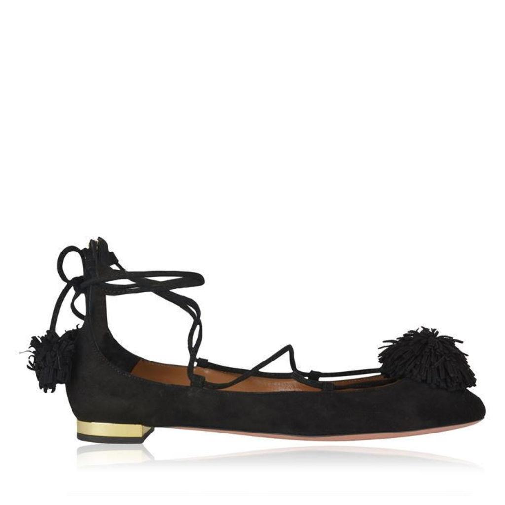 AQUAZZURA Sunshine Flat Shoes