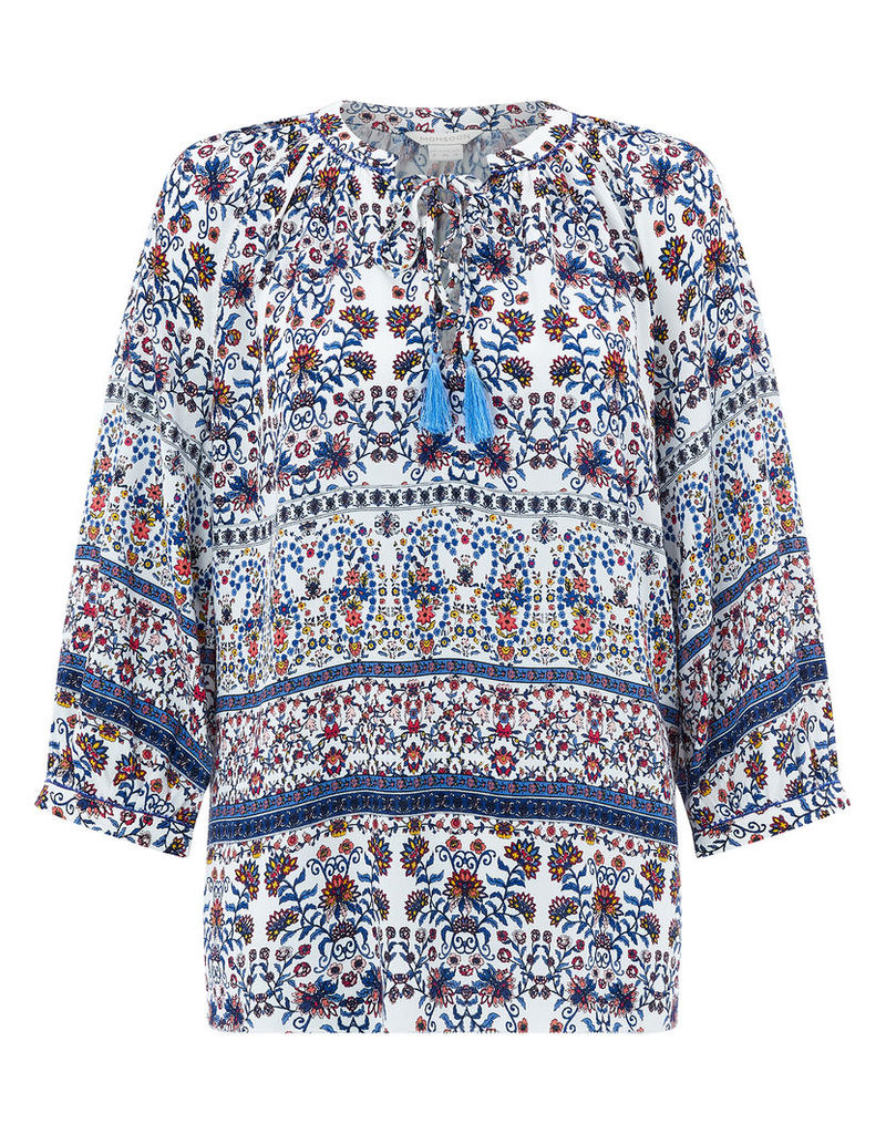 Phylis Print Top