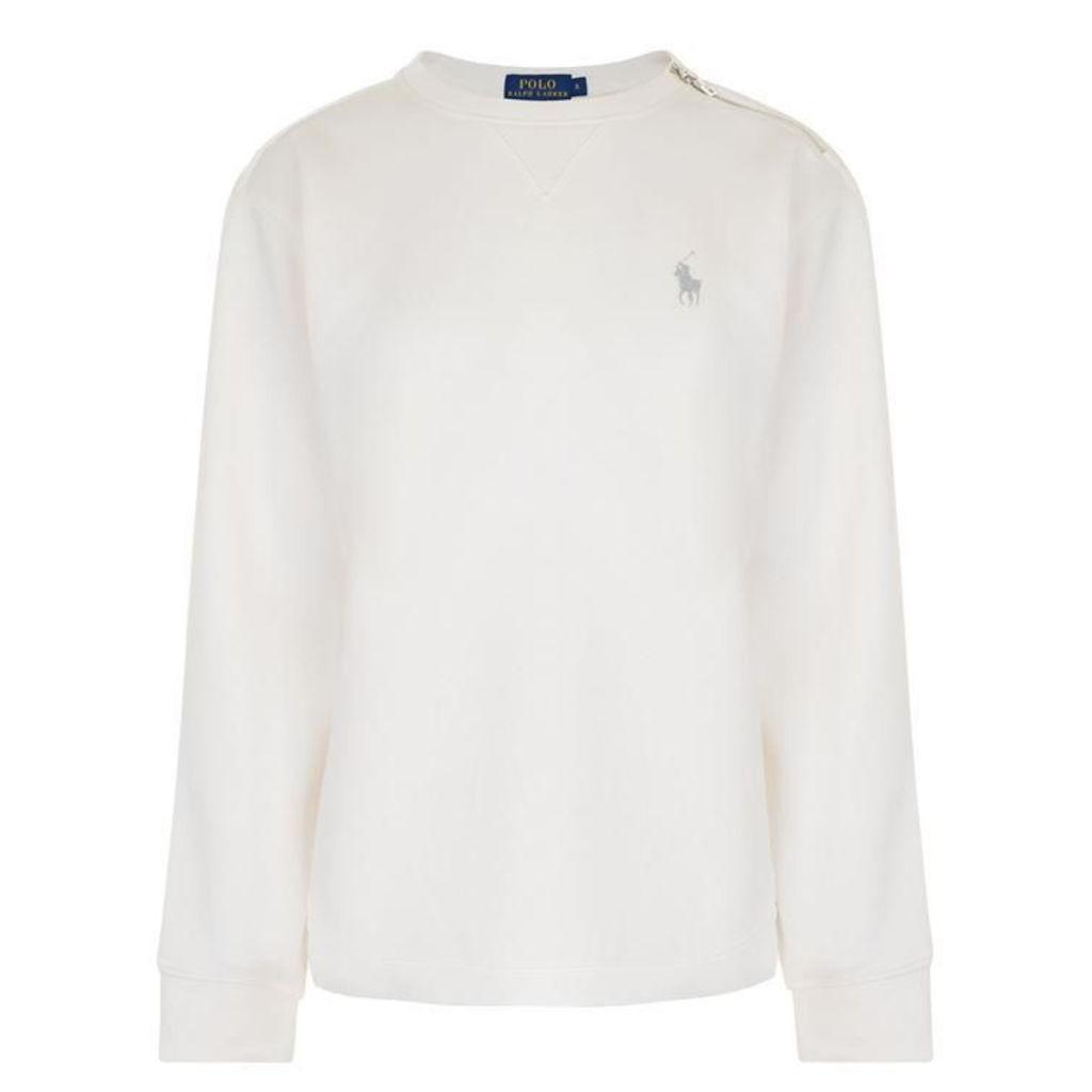 POLO RALPH LAUREN Crew Logo Sweatshirt