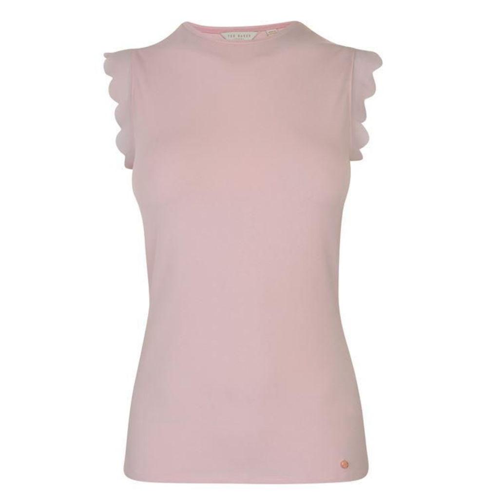 TED BAKER Elliah Scallop T Shirt