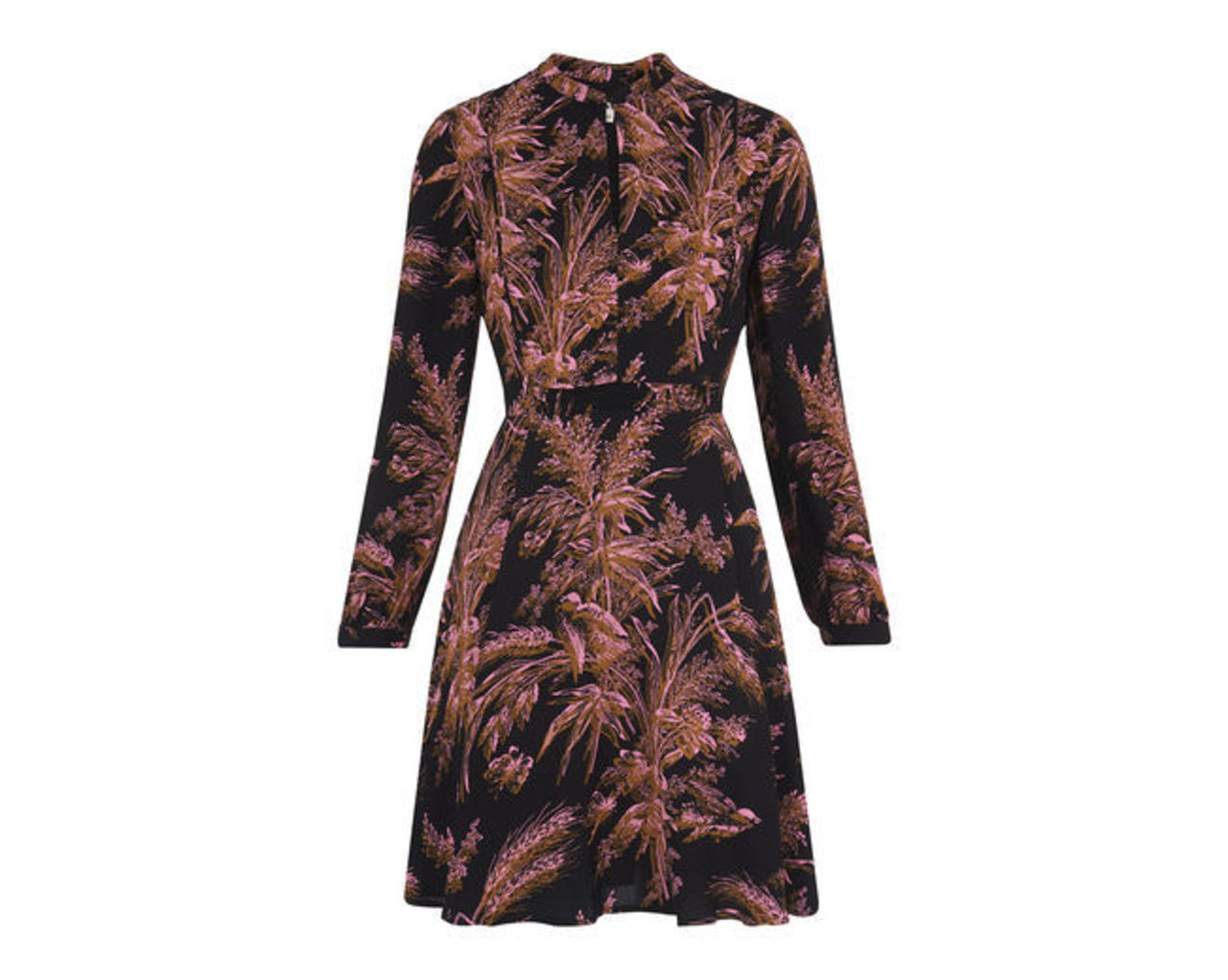 Camille Wren Print Dress