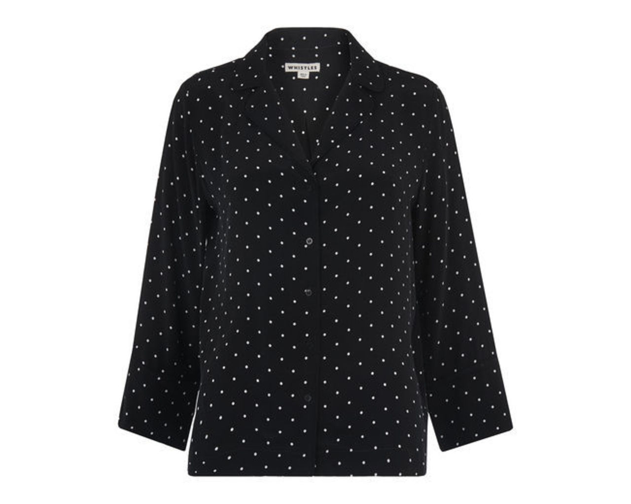 Spot Pyjama Print Shirt