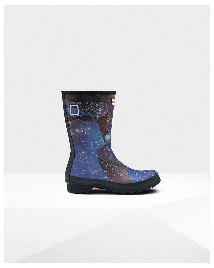 Women's Original Short Space Camo Wellington Boots