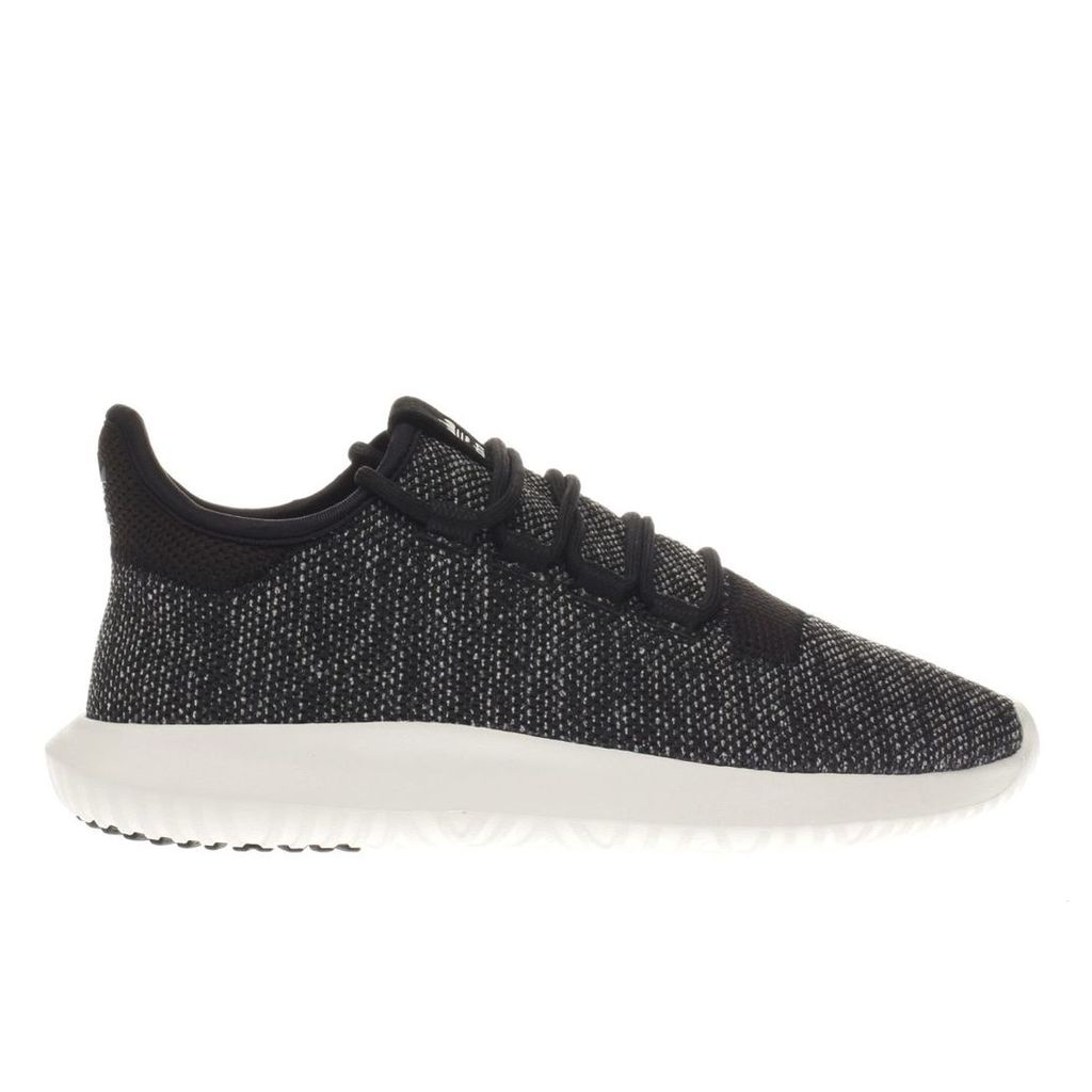 adidas core black tubular shadow 3d knit trainers