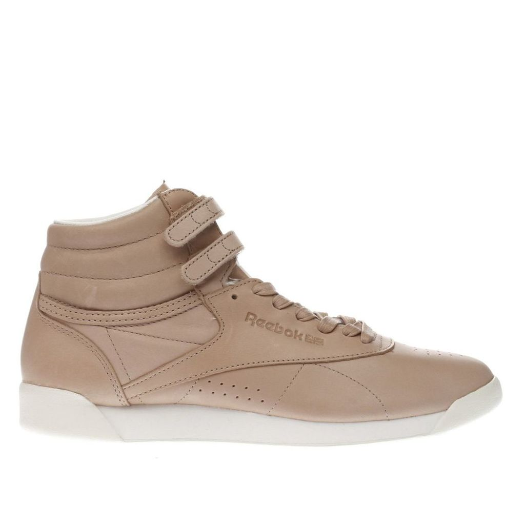 reebok natural freestyle hi 35 trainers