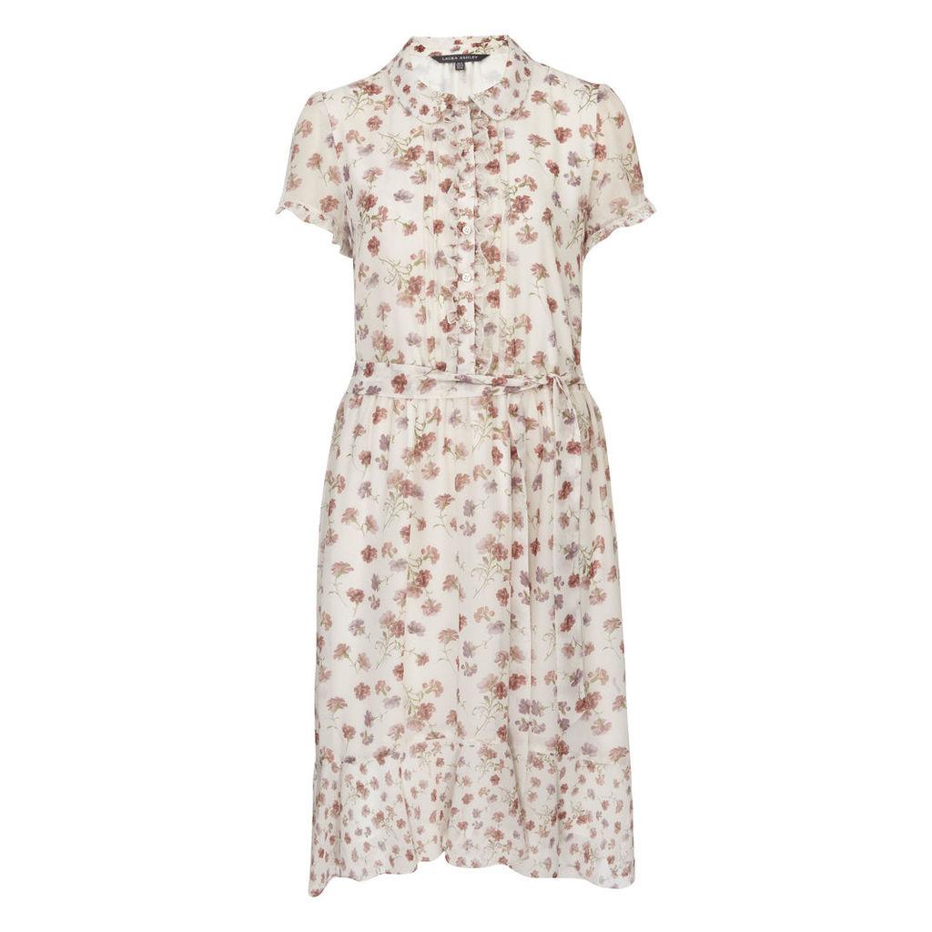 Carnation Floral Shirt Dress