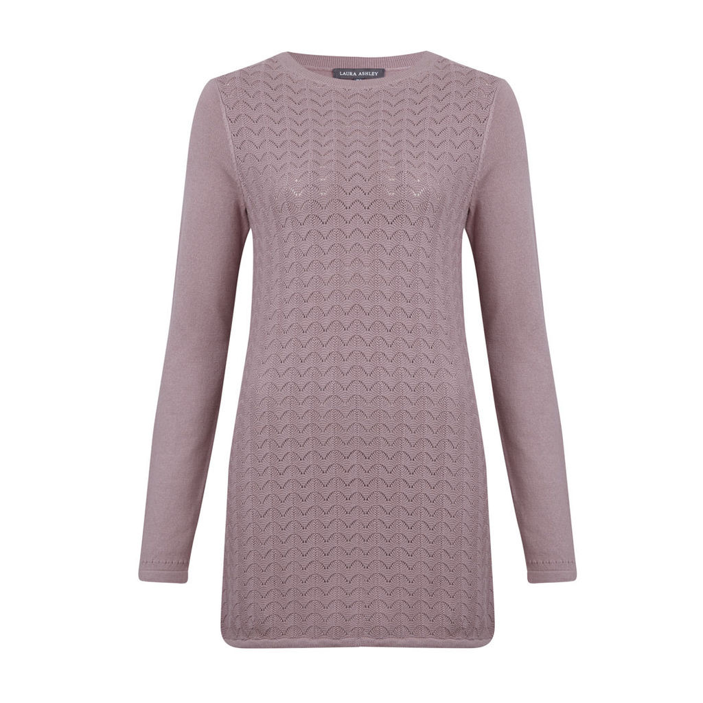 Knitted Tunic with Stitch Detail