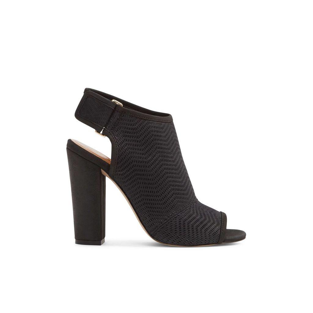 Aldo Lovialla peep-toe block heel, Black