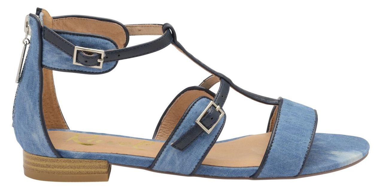 Ravel Ritzville Open Toe Sandals, Blue