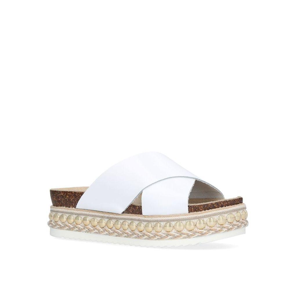 Carvela kake sandals, White