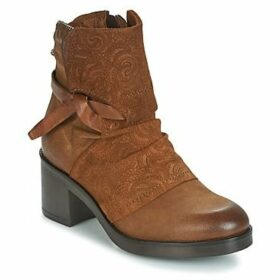 Dream in Green  HINNI  women's Low Ankle Boots in Brown