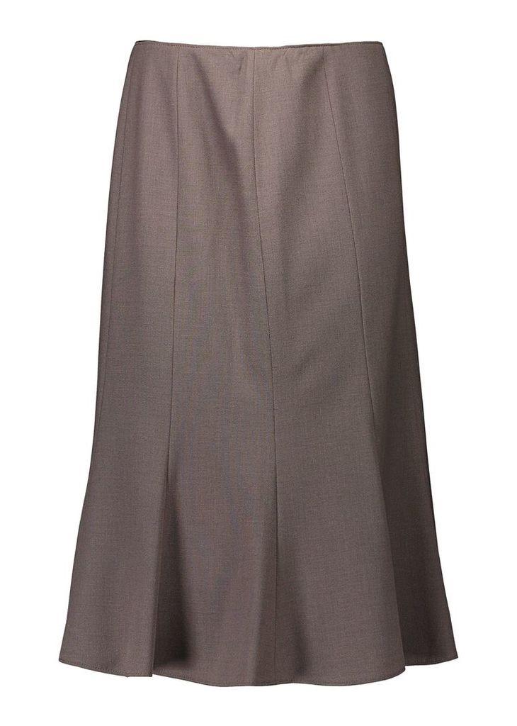 Basler Flared Skirt, Brown