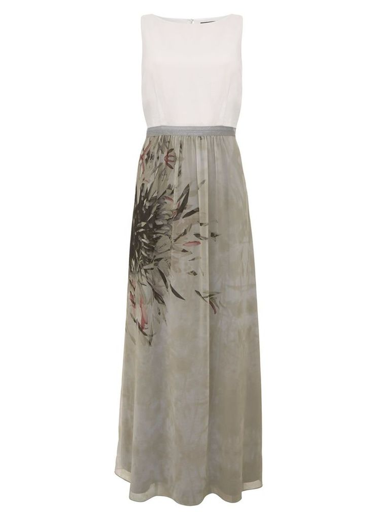Mint Velvet Teresa Print Maxi Dress, Multi-Coloured