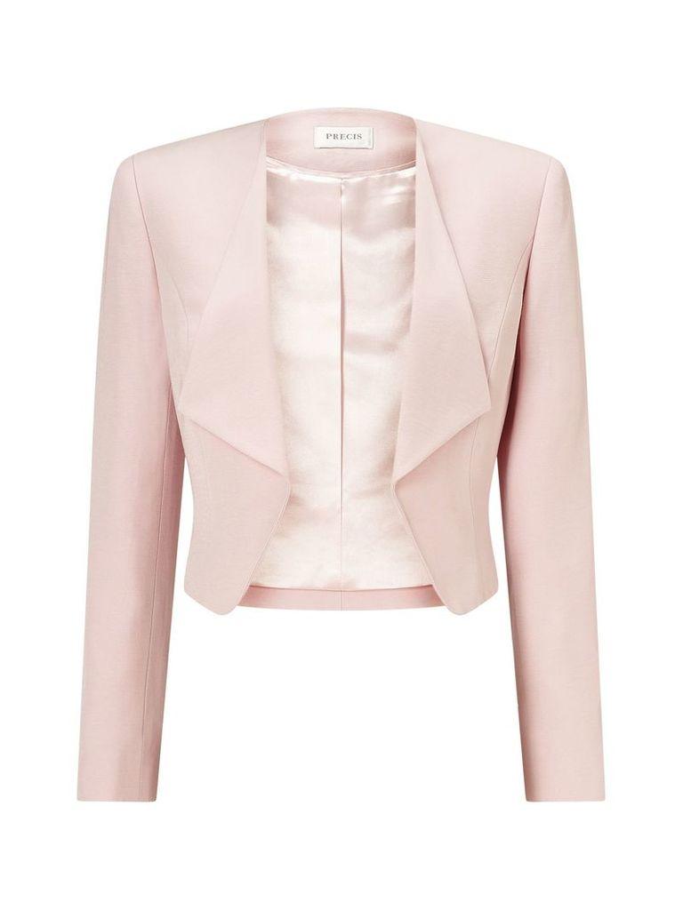 Precis Petite Petite Waterfall Jacket, Pink