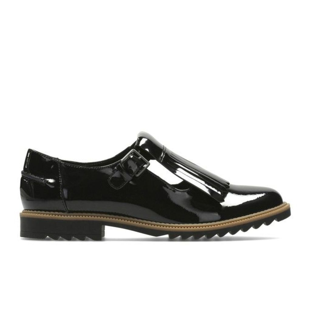 Griffin Mia Patent Leather Brogues