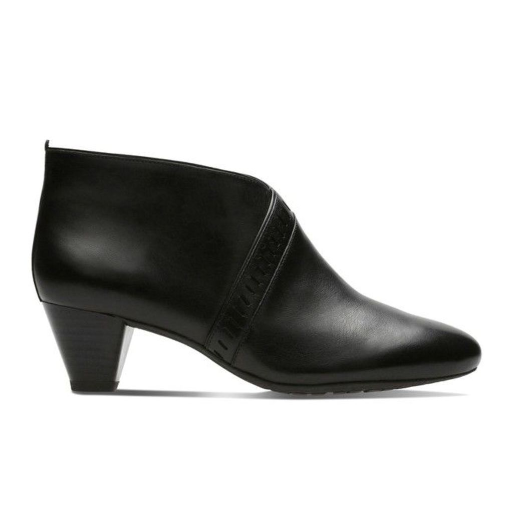 Denny Frances Leather Ankle Boots