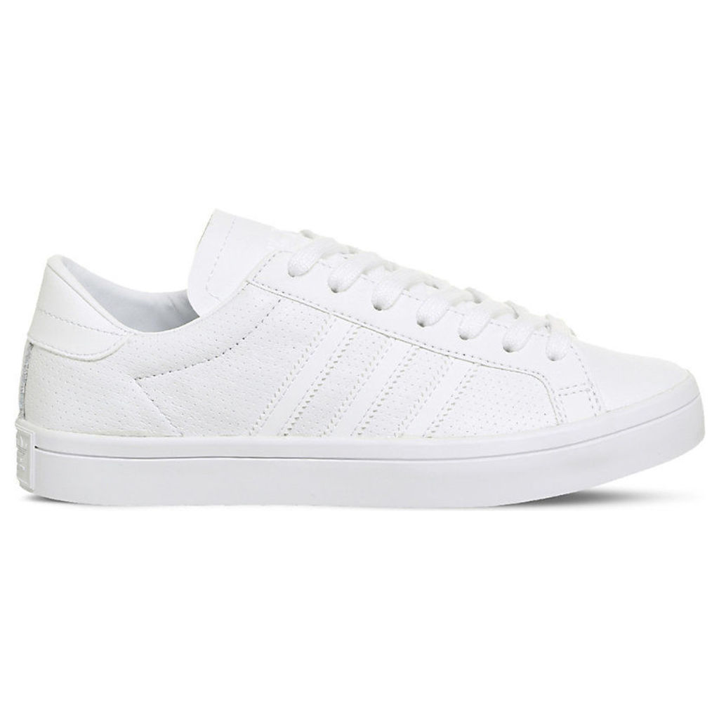 Court Vantage perforated leather trainers