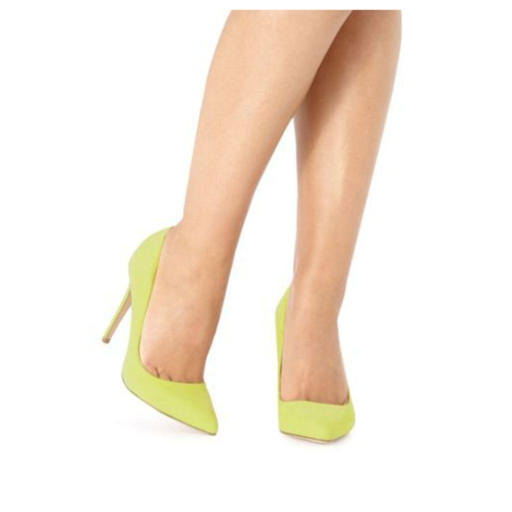Faith Lime 'Chloe' High Court Shoes From Debenhams 5